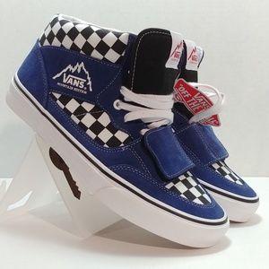 Vans Mountain Edition - Blue/Black Checkerboard